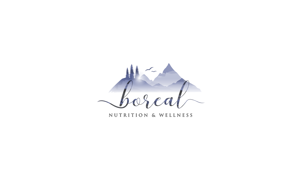 Soft Mountain logo for a Nutrition and Wellness company by inspiral