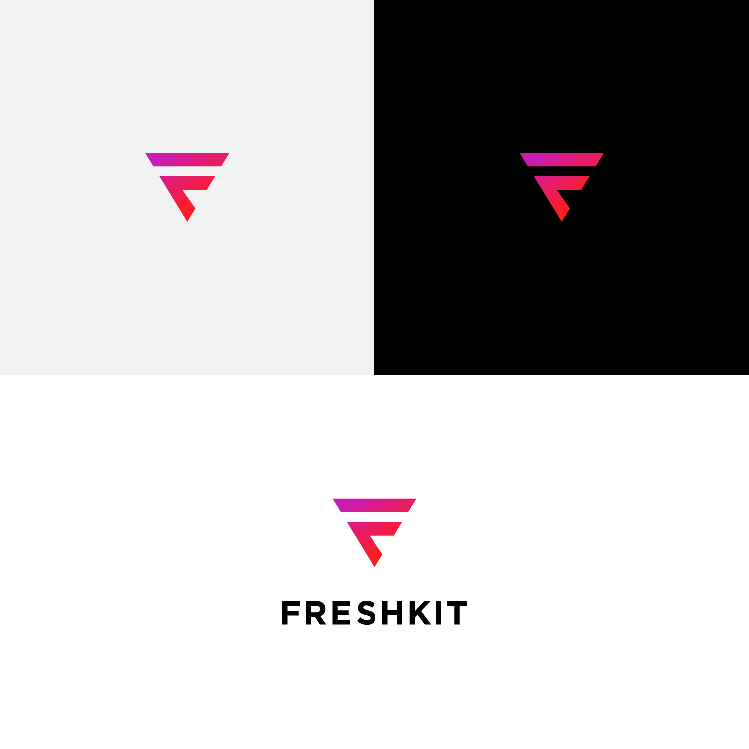 Playful Colorful Fashion Logo Design For Freshkit By Pood Creative Design 21410709