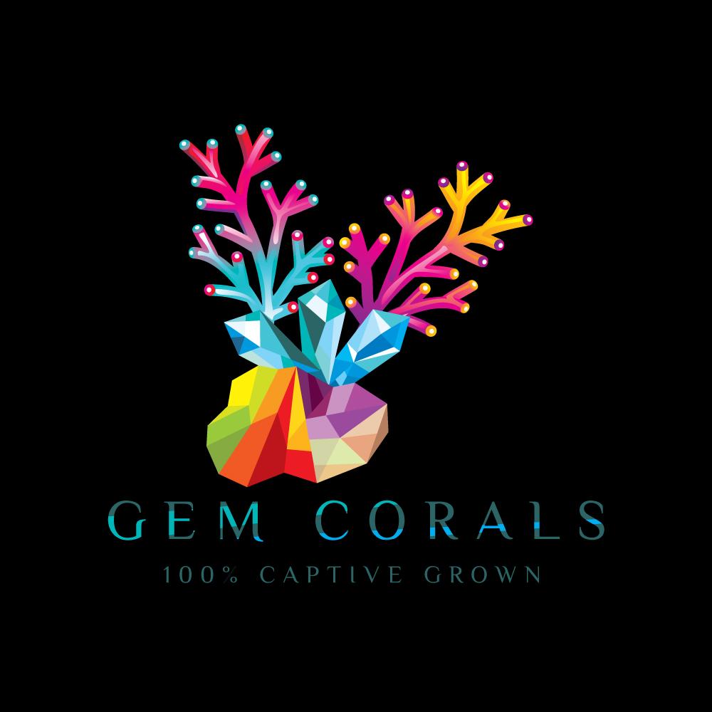 Gem Corals Logo Design by Kreative Fingers