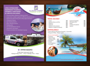 Gift Shop Flyer Designs | 35 Flyers to Browse