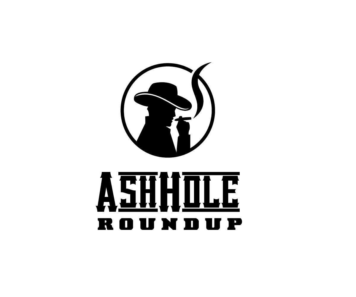 Elegant, Playful Logo Design for AshHole Roundup (in western