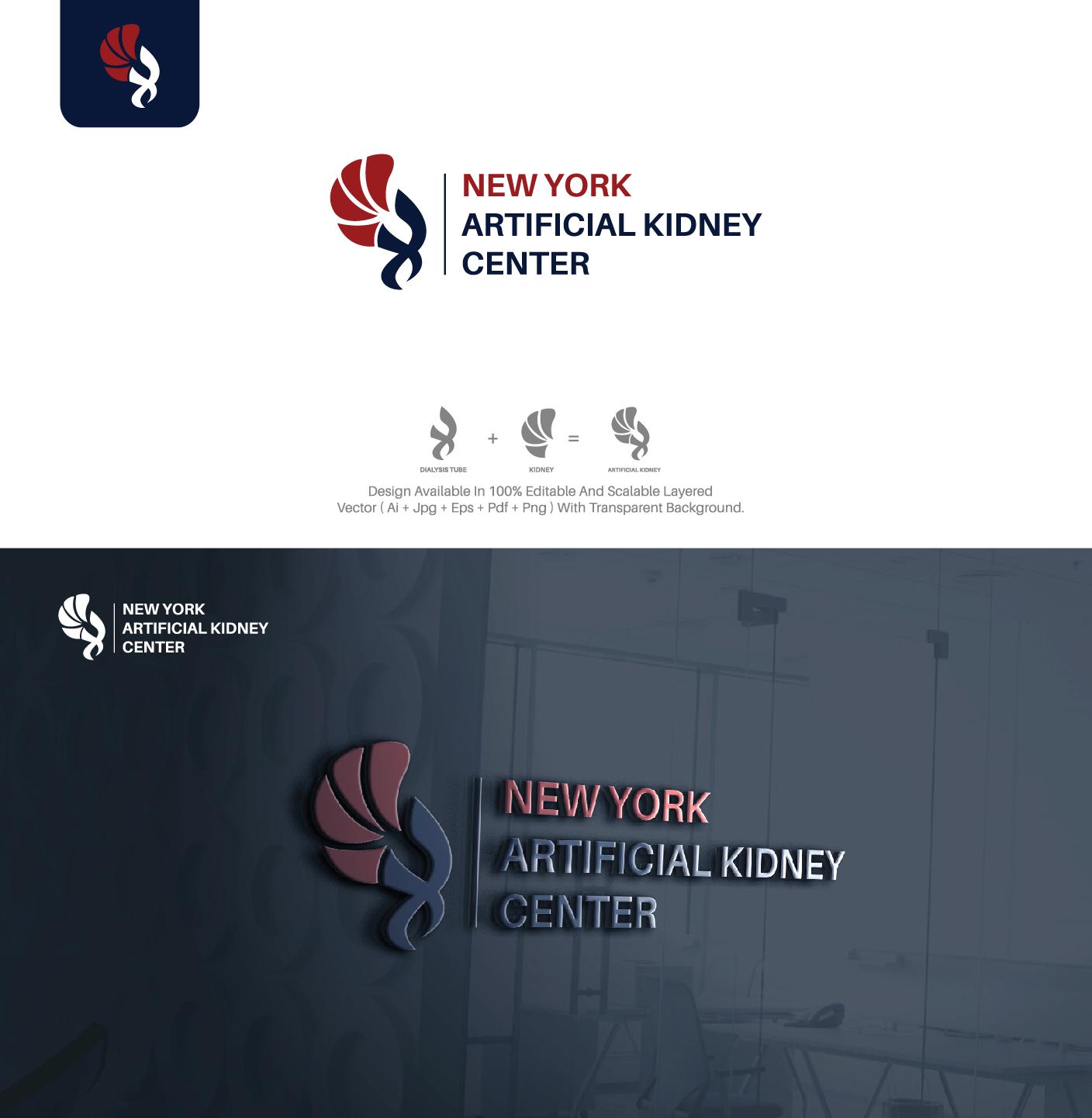 Serious, Professional, Medical Logo Design for New York Artificial