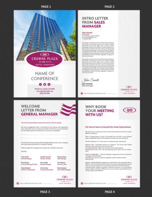Elegant, Playful, Travel Industry Brochure Design for a Company by
