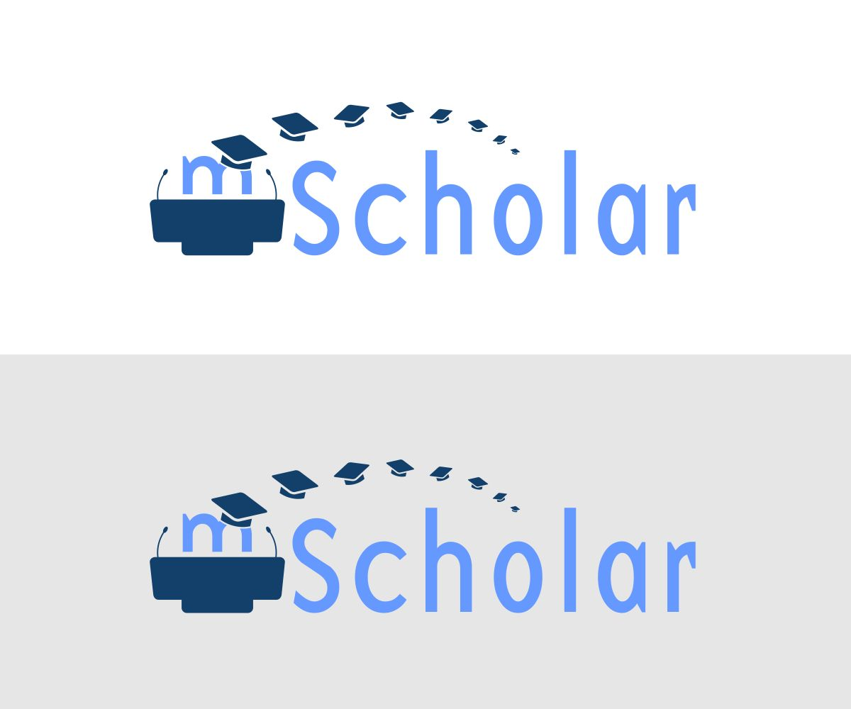Professional, Bold, Education Logo Design for mScholar by