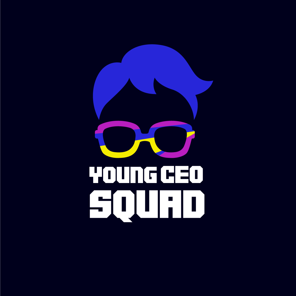 Young CEO Squad Logo Design by Kreative Fingers