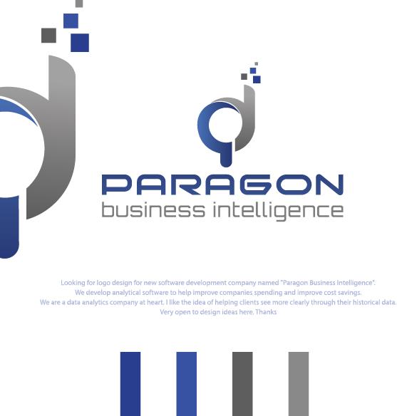 Logo Design For Paragon Paragon Bi Or Paragon Business Intelligence By Branislav 0308 Design 21485393