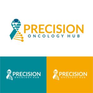 Precision Oncology Hub | Logo Design by DesignLima