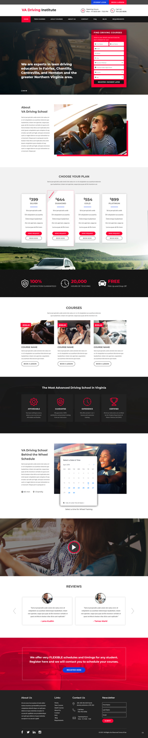 Bold Modern Education Web Design For A Company By Pb Design 21527550