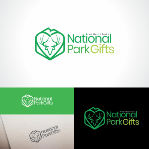National Park Gifts | Logo Design by Kreative Fingers