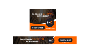 Bold, Serious Graphic Design for Crypto Newsfeed Ltd by WB Design
