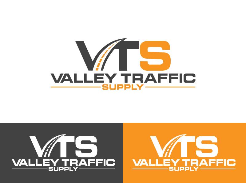 Logo for VTS Valley Traffic Supply by santa islam