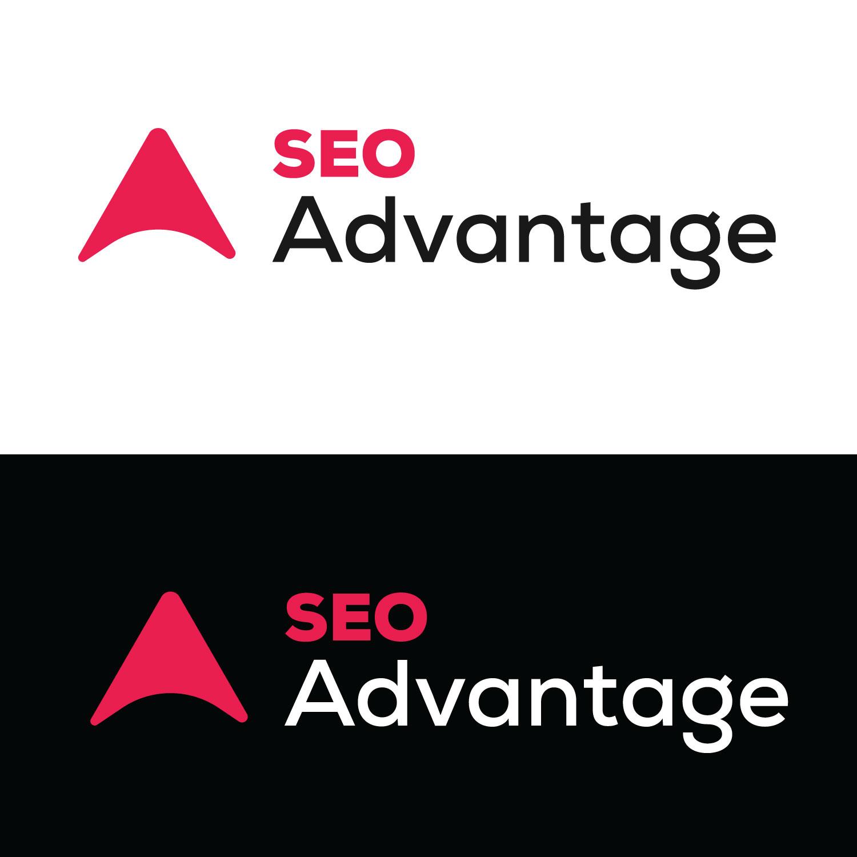 Modern Bold Logo Design For Seo Advantage By Web Pixlr Design