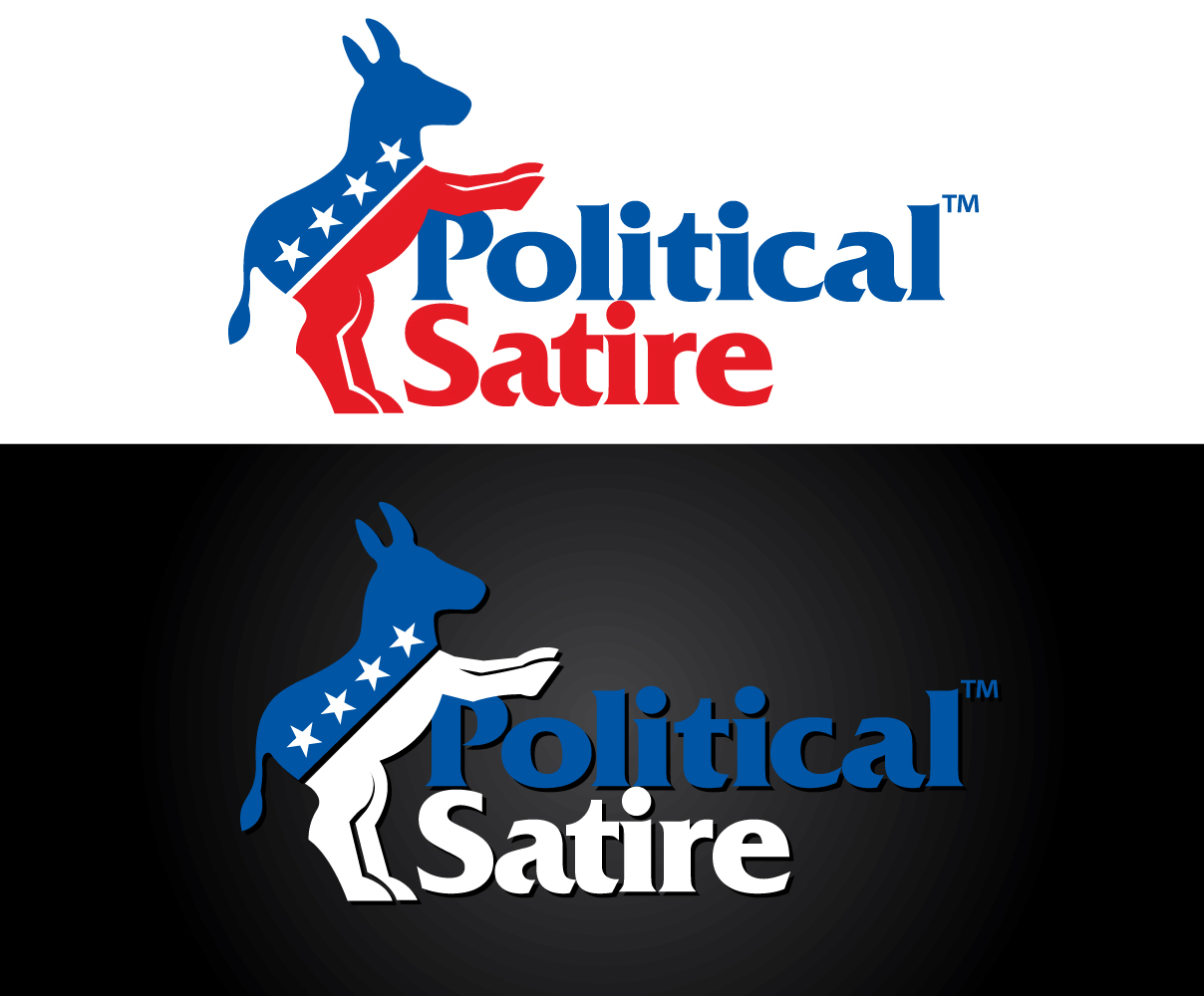 Playful Personable Logo Design For Political Satire By