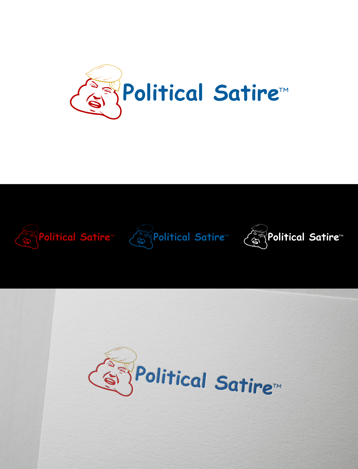 Playful Personable Logo Design For Political Satire By Sitimwp