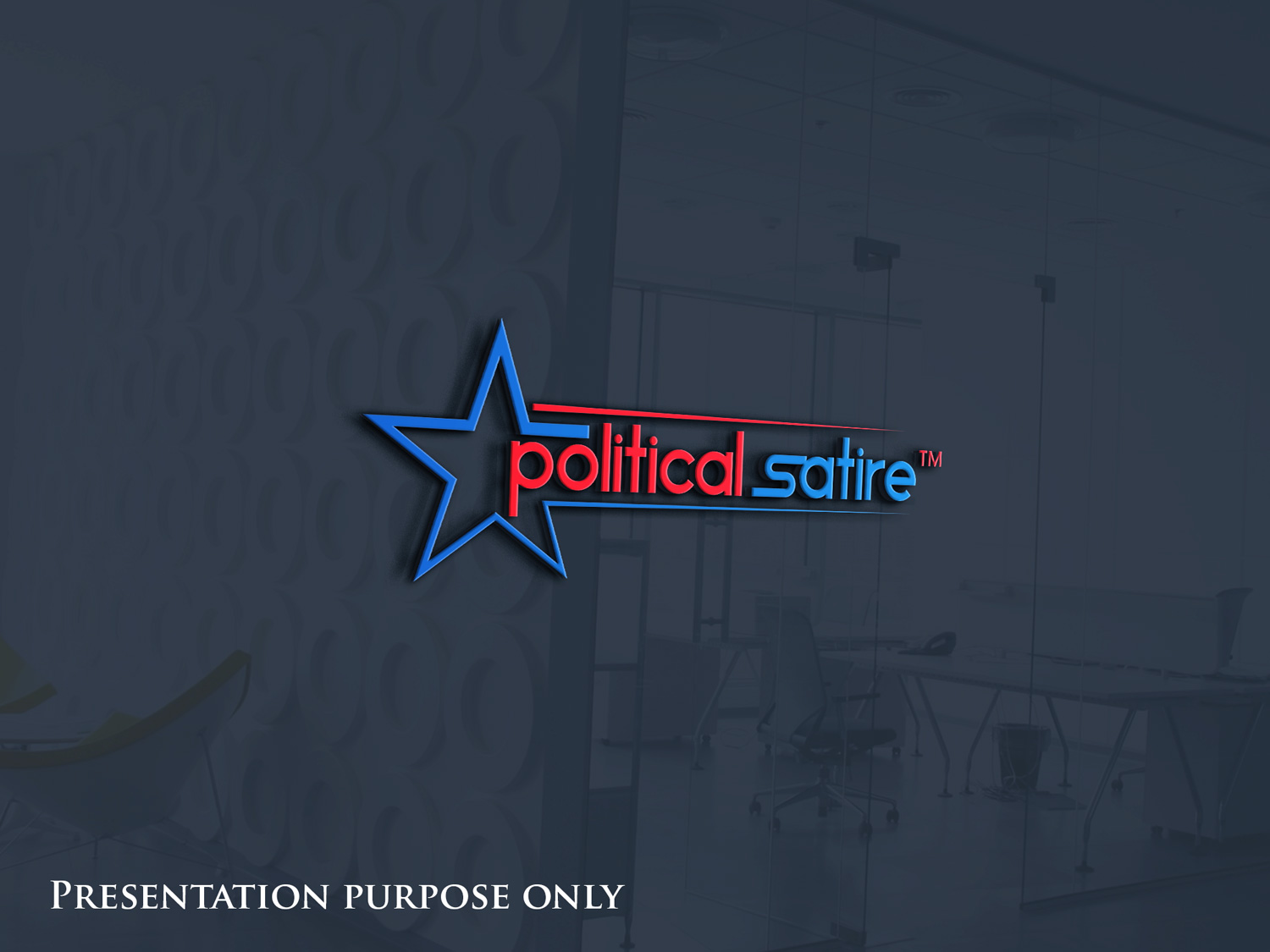 Playful Personable Logo Design For Political Satire By Simsak 2