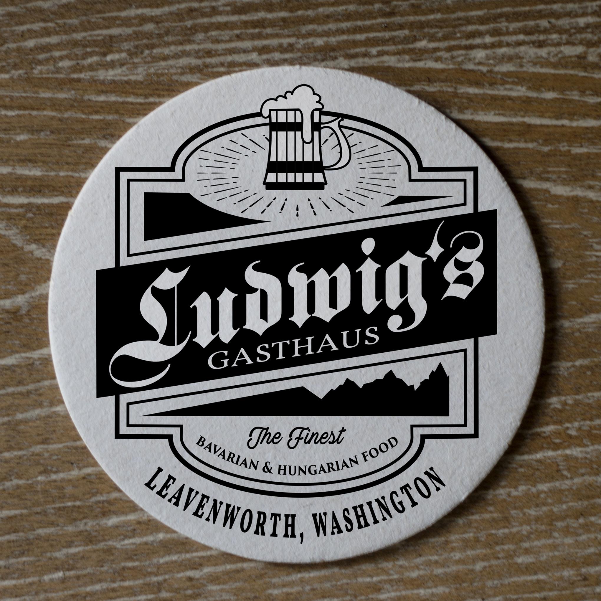 Gasthaus Logo Design by kimhanson