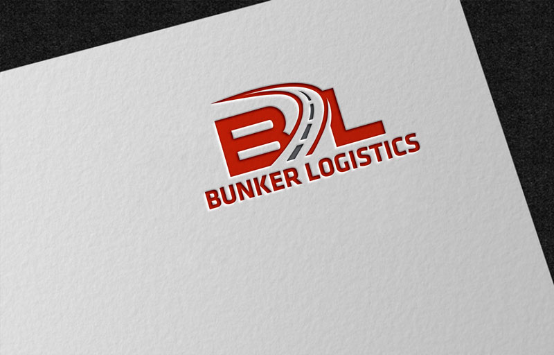Bunker Logistics logo by FreedomDesign