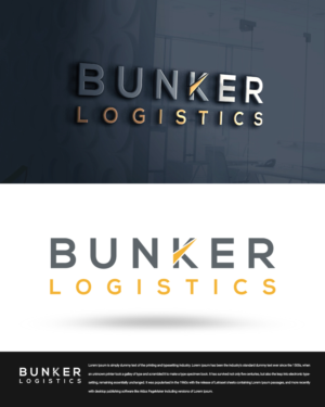 Elegant, Playful, Trucking Company Logo Design for BUNKER