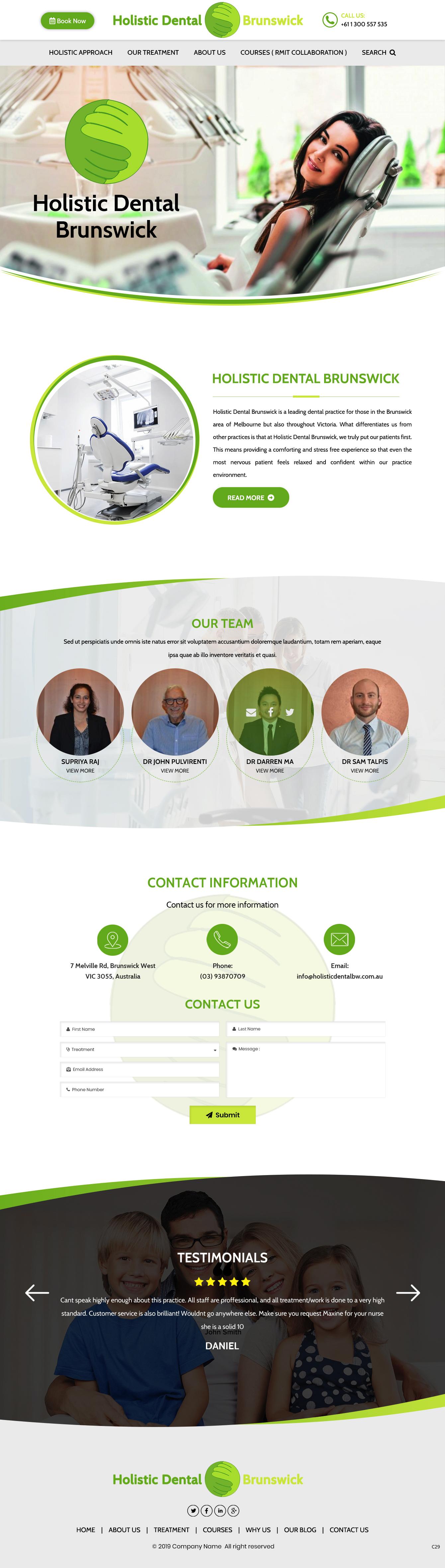 Web Design For A Company By Pb Design 21629625