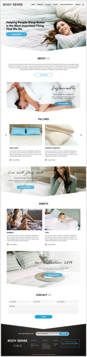 Squarespace Design by -Ray-