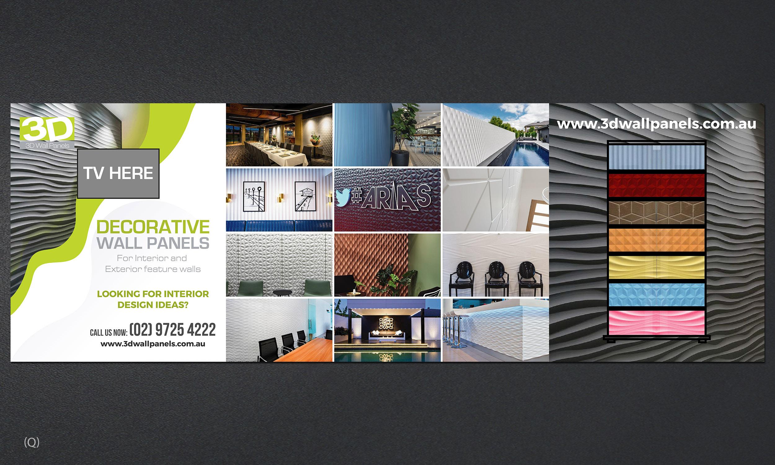 Elegant Playful Interior Design Trade Show Booth Design For 3d Wall Panels By Designanddevelopment Design 21770566