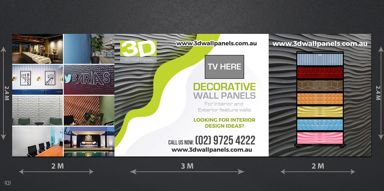 Elegant Playful Interior Design Trade Show Booth Design For 3d Wall Panels By Designanddevelopment Design 21812504