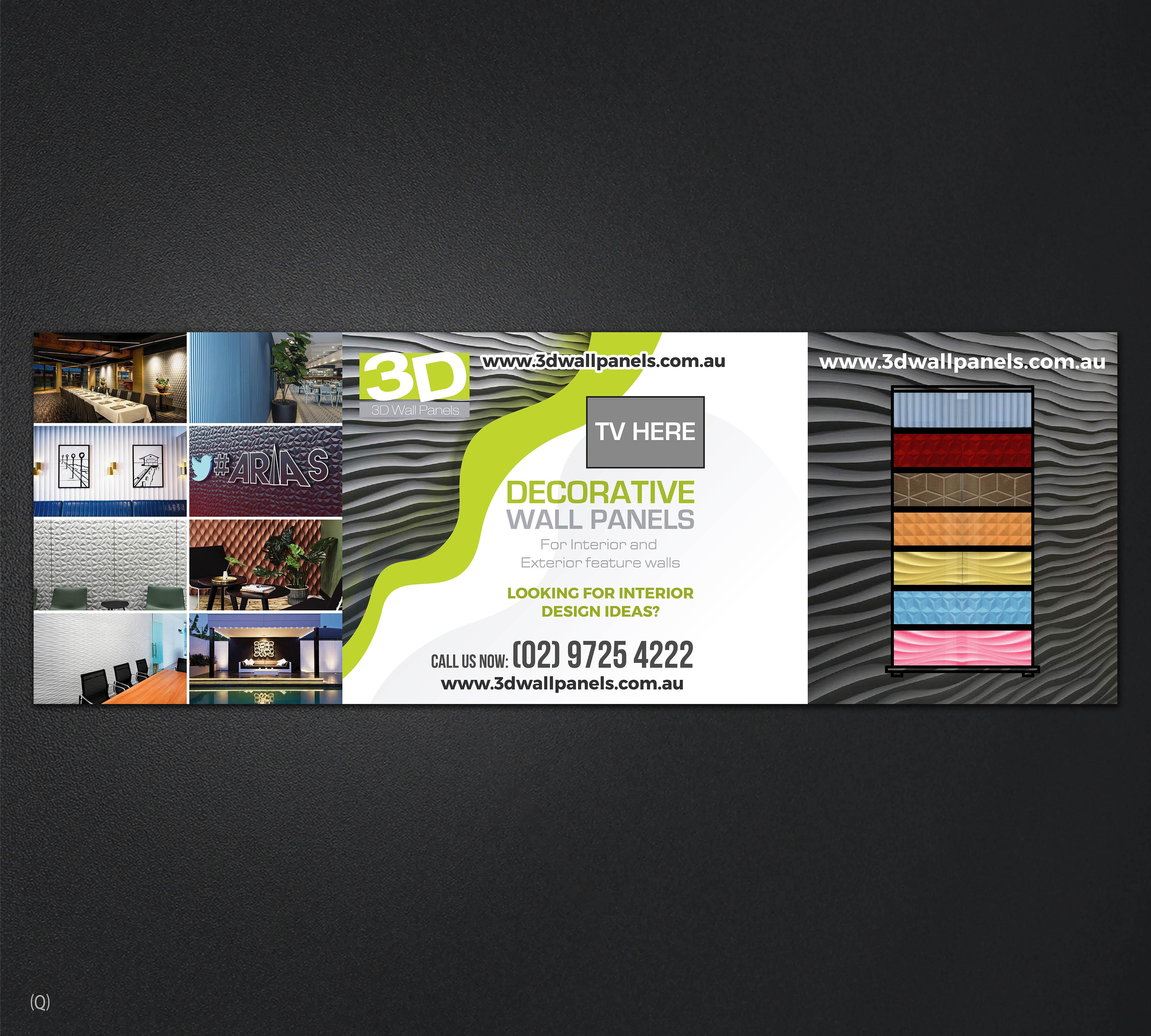 Elegant Playful Interior Design Trade Show Booth Design For 3d Wall Panels By Designanddevelopment Design 22053849