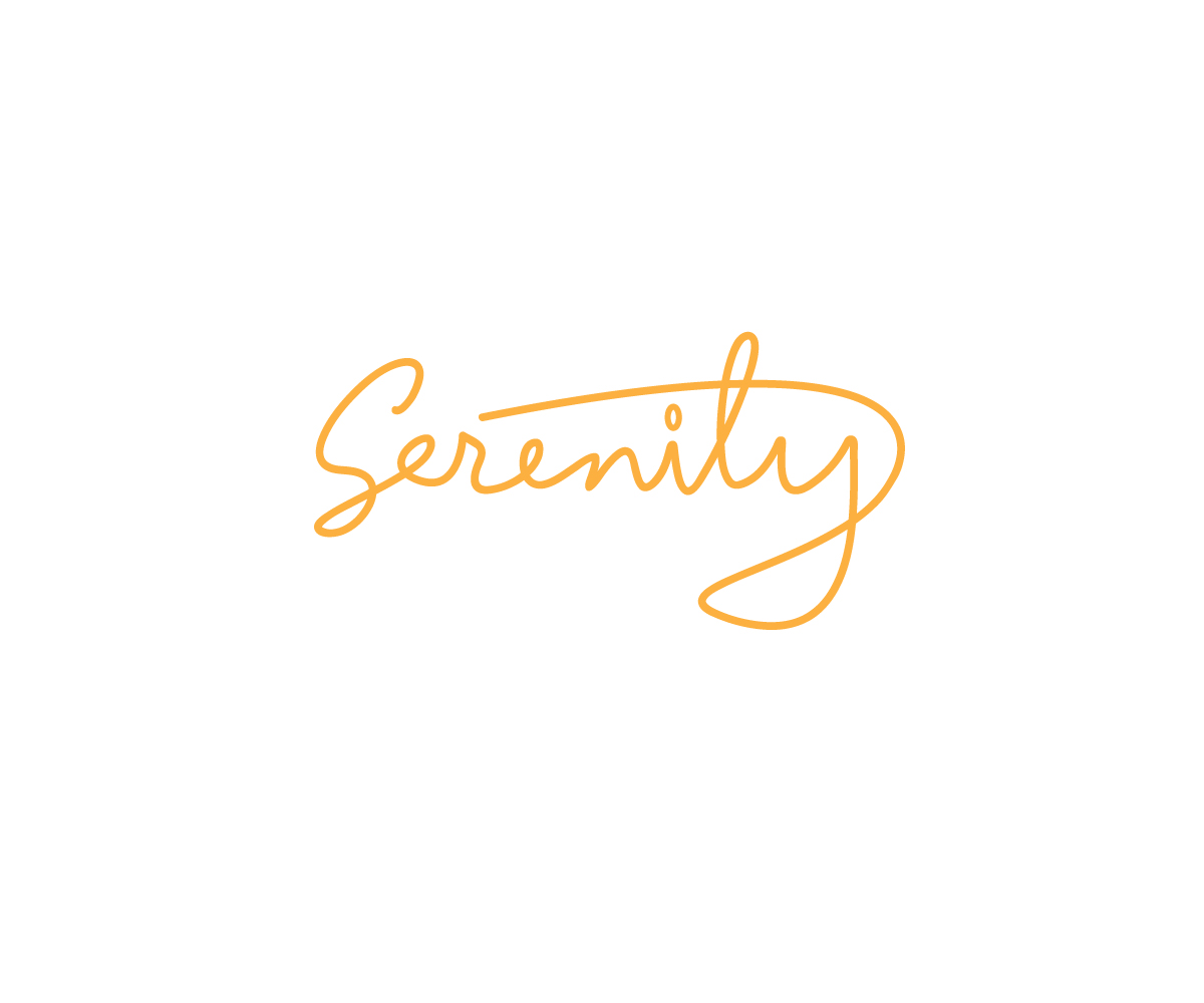 Elegant Serious Clothing Logo Design For Serenity By Renderman