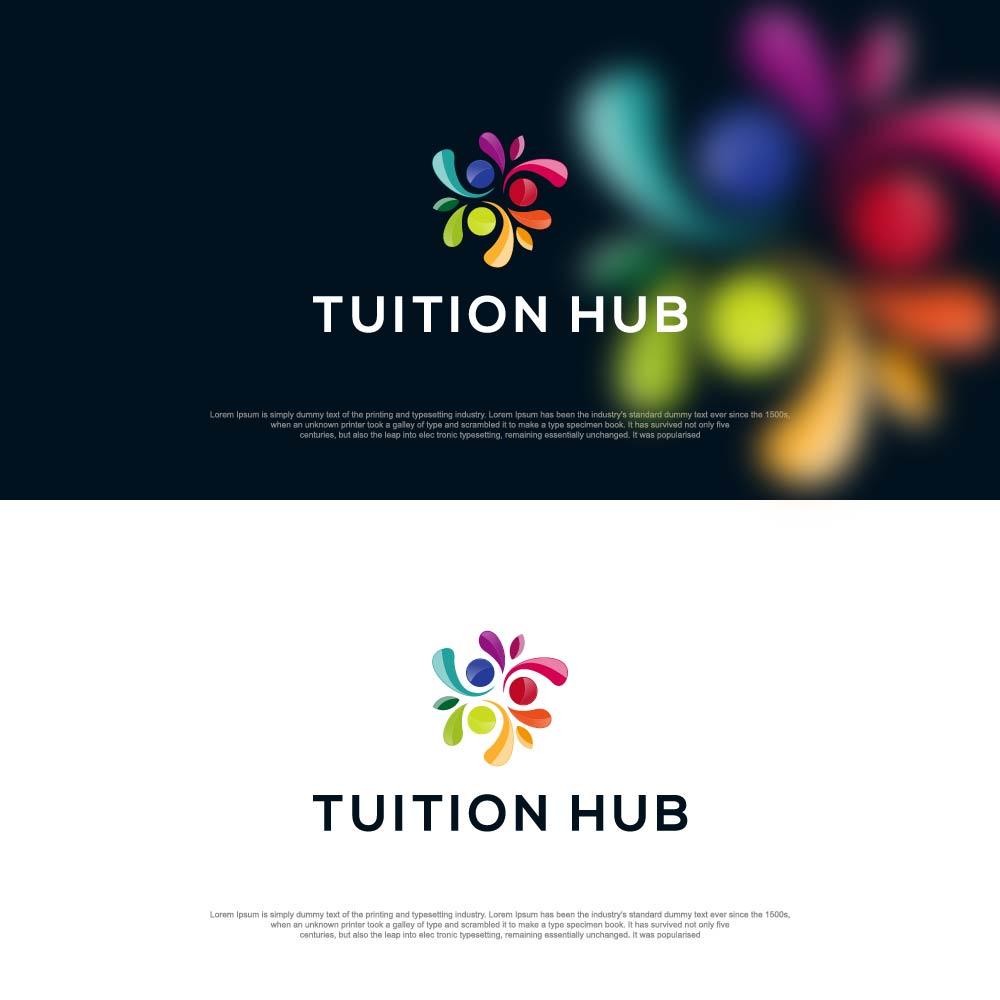 Tuition Hub Tutoring School Logo by sushsharma99