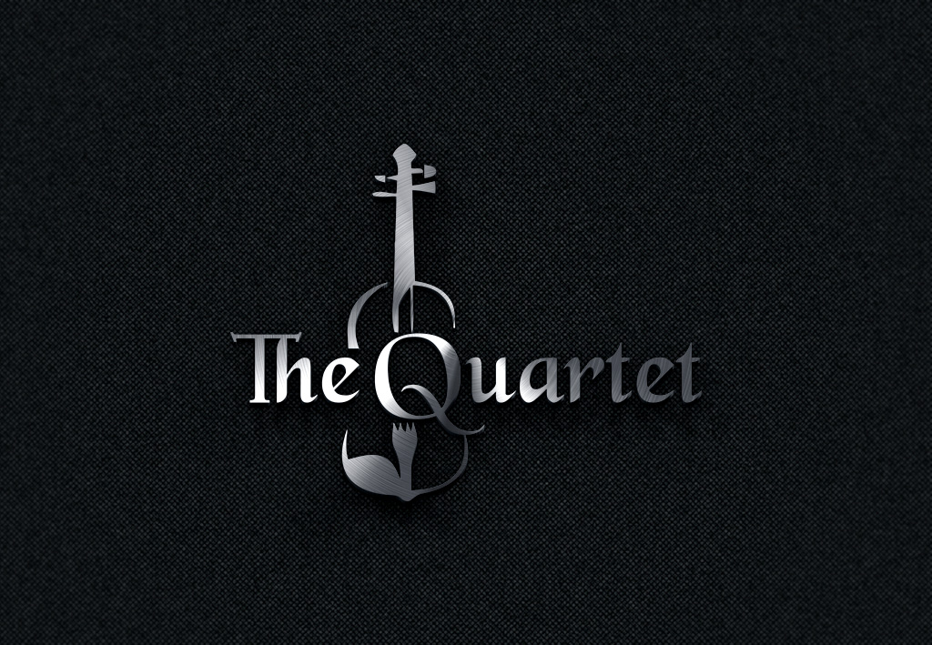 Logo design for a String Quartet wedding hire by mama 3