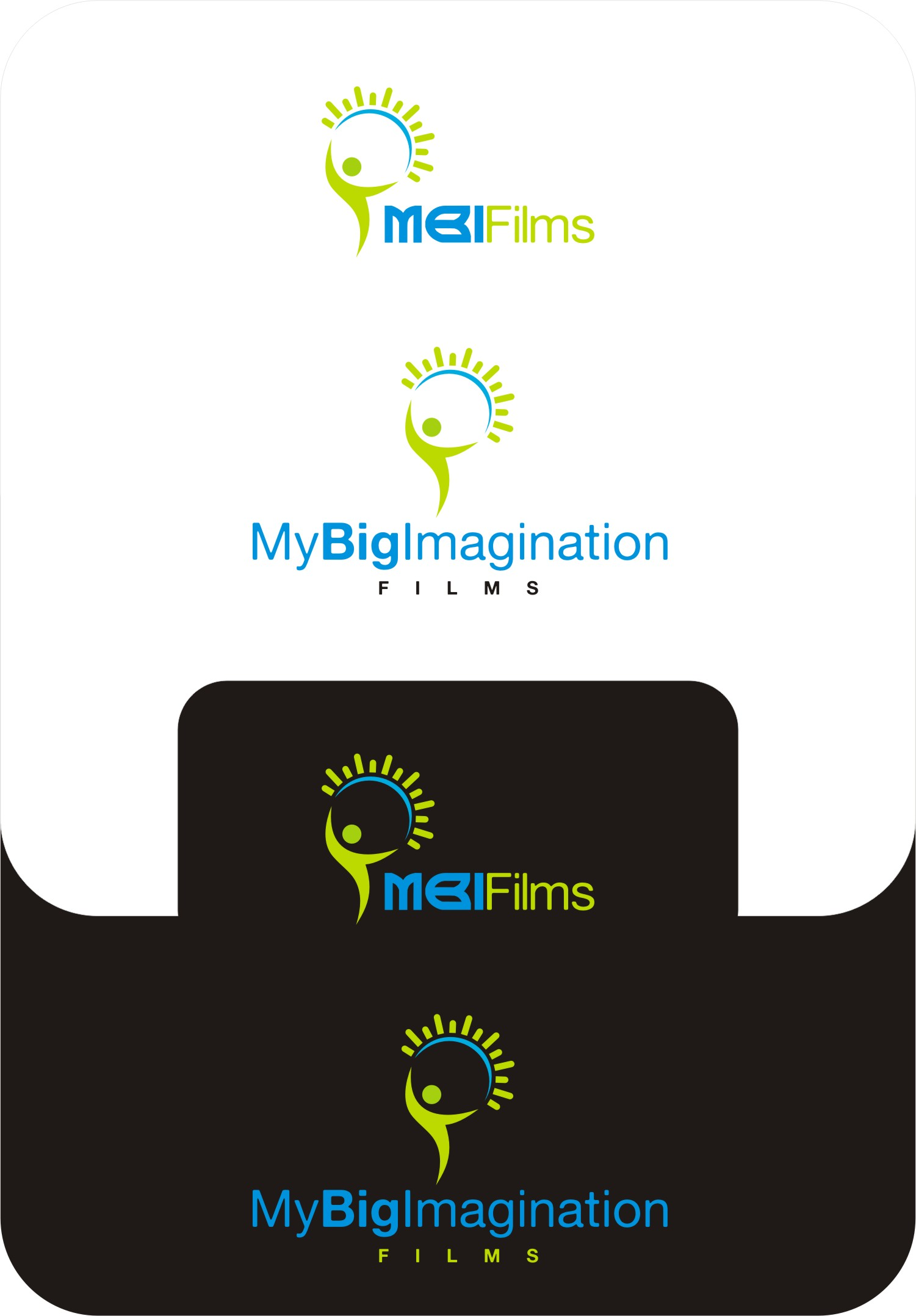 Logo Design job – My Big Imagination (MBI) Logo/Brand – Winning design by DesignRAJU