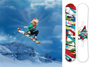 Snowboard Business Card Design Forum 709058