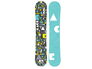 Graphic Design by Mirka - Snowboard Graphic Design Project