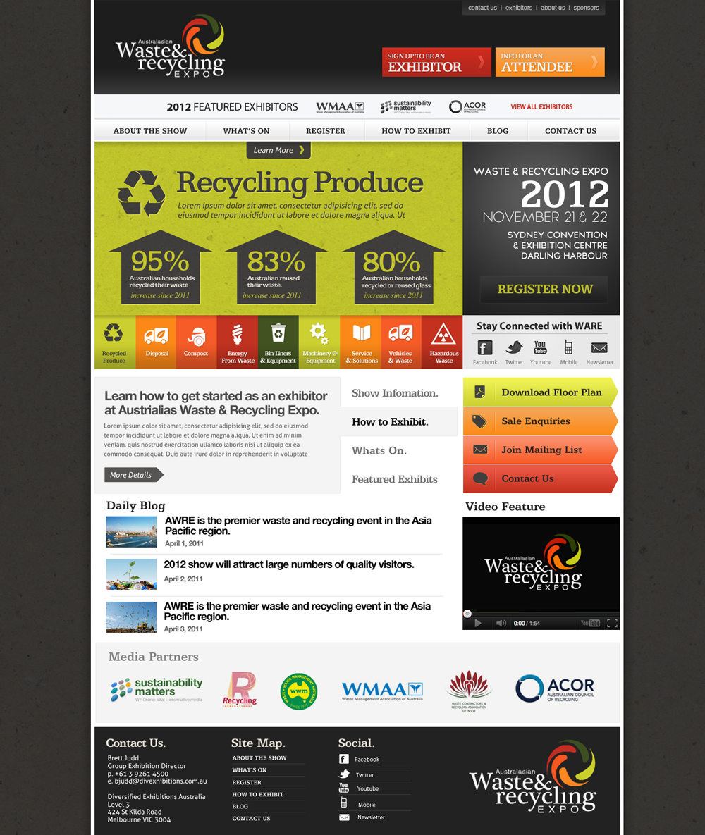 Professional masculine web design for paul daly by robert for Masculine web design