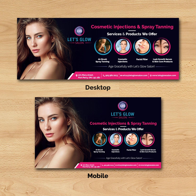 Serious Elegant Beauty Facebook Design For A Company By Ecorokerz Design 21827321