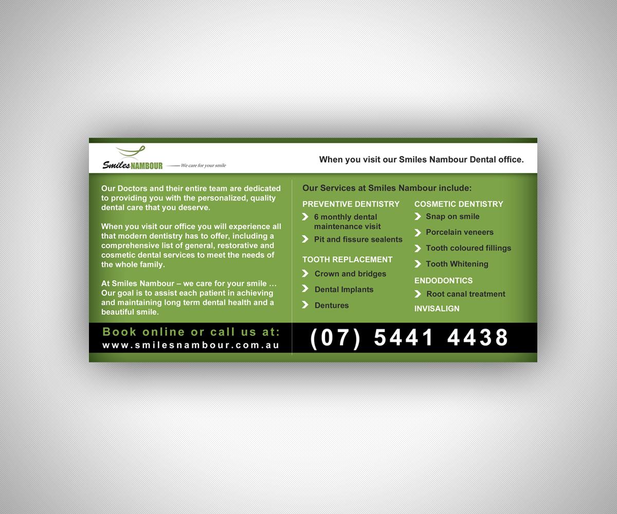Dental Flyer Design for a Company by Nebojsa Aleksic | Design #2946569