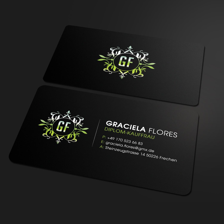 Upmarket Serious Business Card Design For Steuerberatung