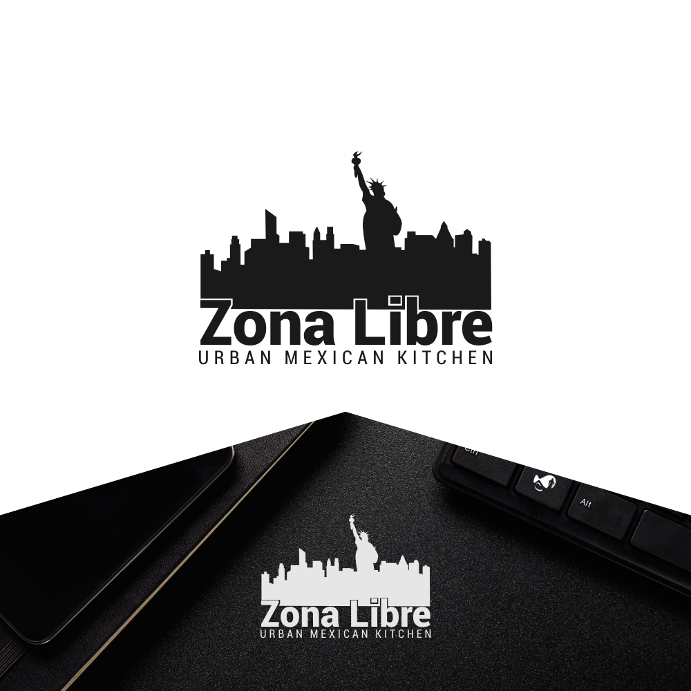 Modern Colorful Mexican Restaurant Logo Design For Zona