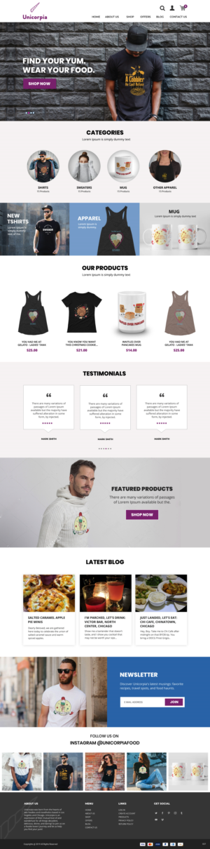 Shopify Design by pb
