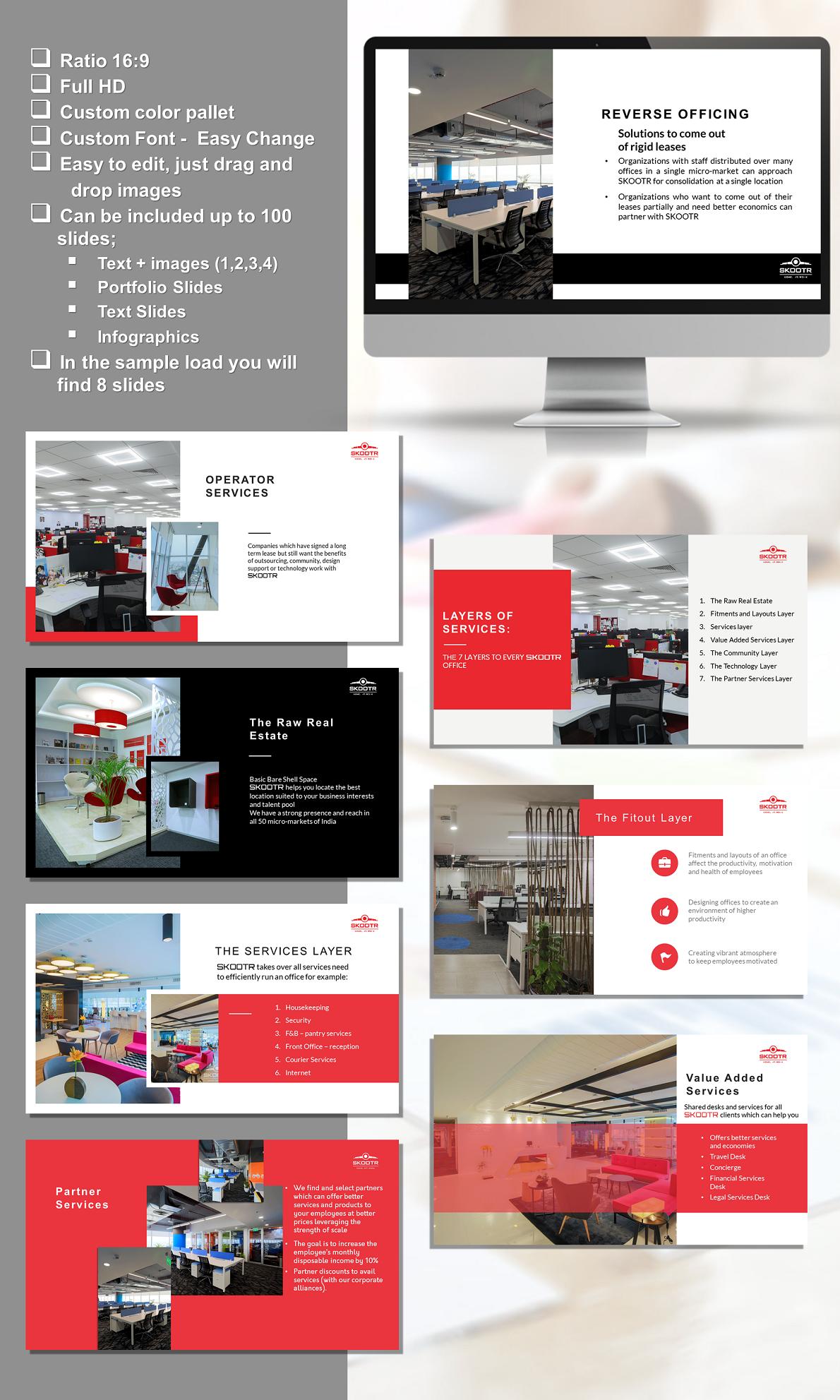 Elegant, Modern Brochure Design for skootr global pvt  ltd