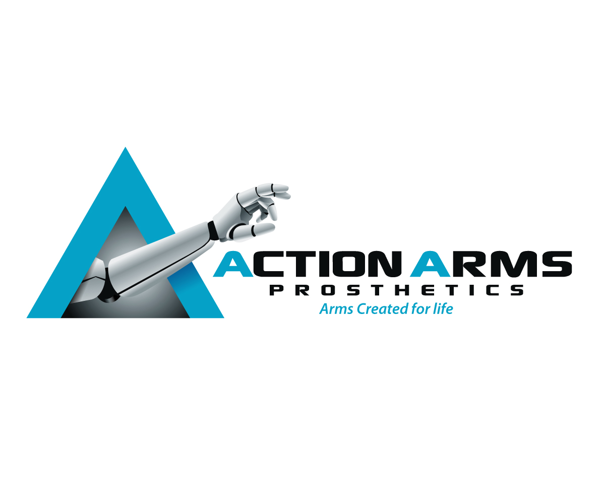 Action Arms Logo Design by Jay Design