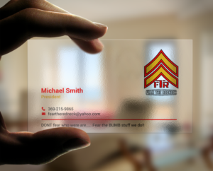 Transparent Business Card Designs 29 Business Cards To Browse