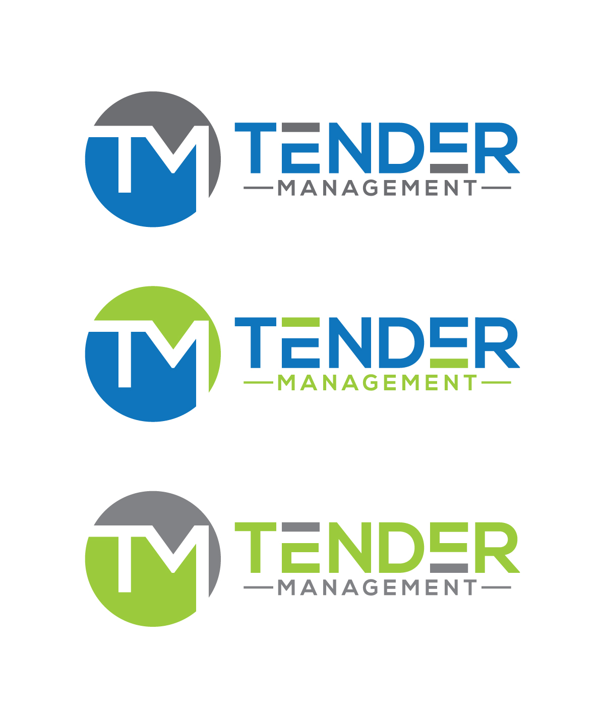 Professional Upmarket Logo Design For Tender Management Pty