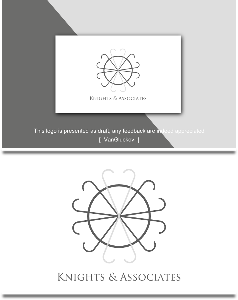 Elegant, Traditional Logo Design for It is a consulting firm