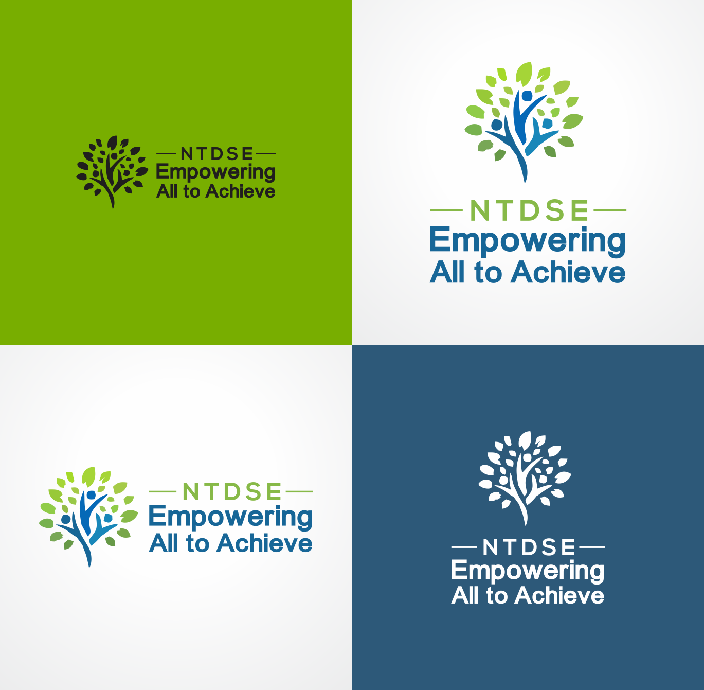 Empowering All To Achieve 41 Logo Designs For Ntdse Empowering All To Achieve Choose a free logo to make your own. designcrowd