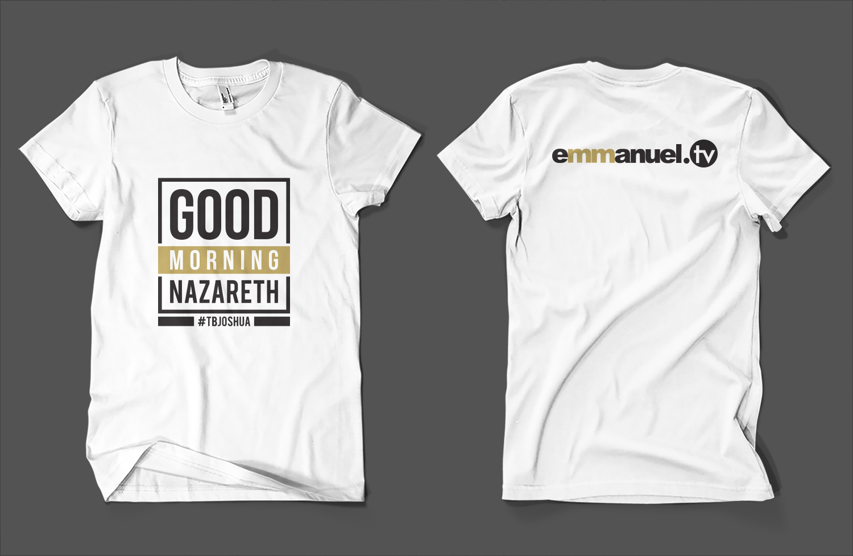 Good Morning Nazareth - T-Shirt | 82 T-shirt Designs for a business