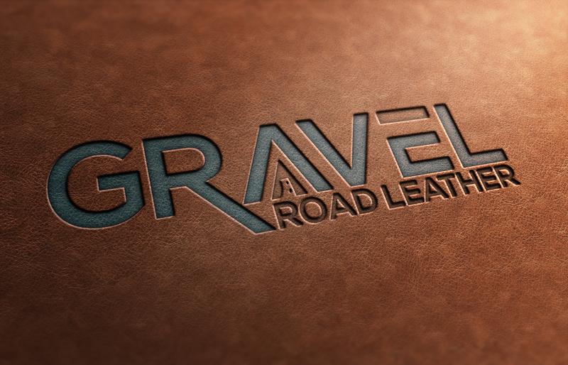 Elegant, Playful Logo Design for Gravel Road Leather