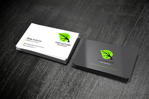tree service business cards