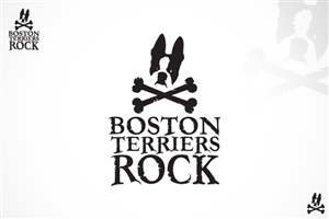 Logo Design job – Retro Style Logo Design For Online Boston Terrier Community – Winning design by G&G Design