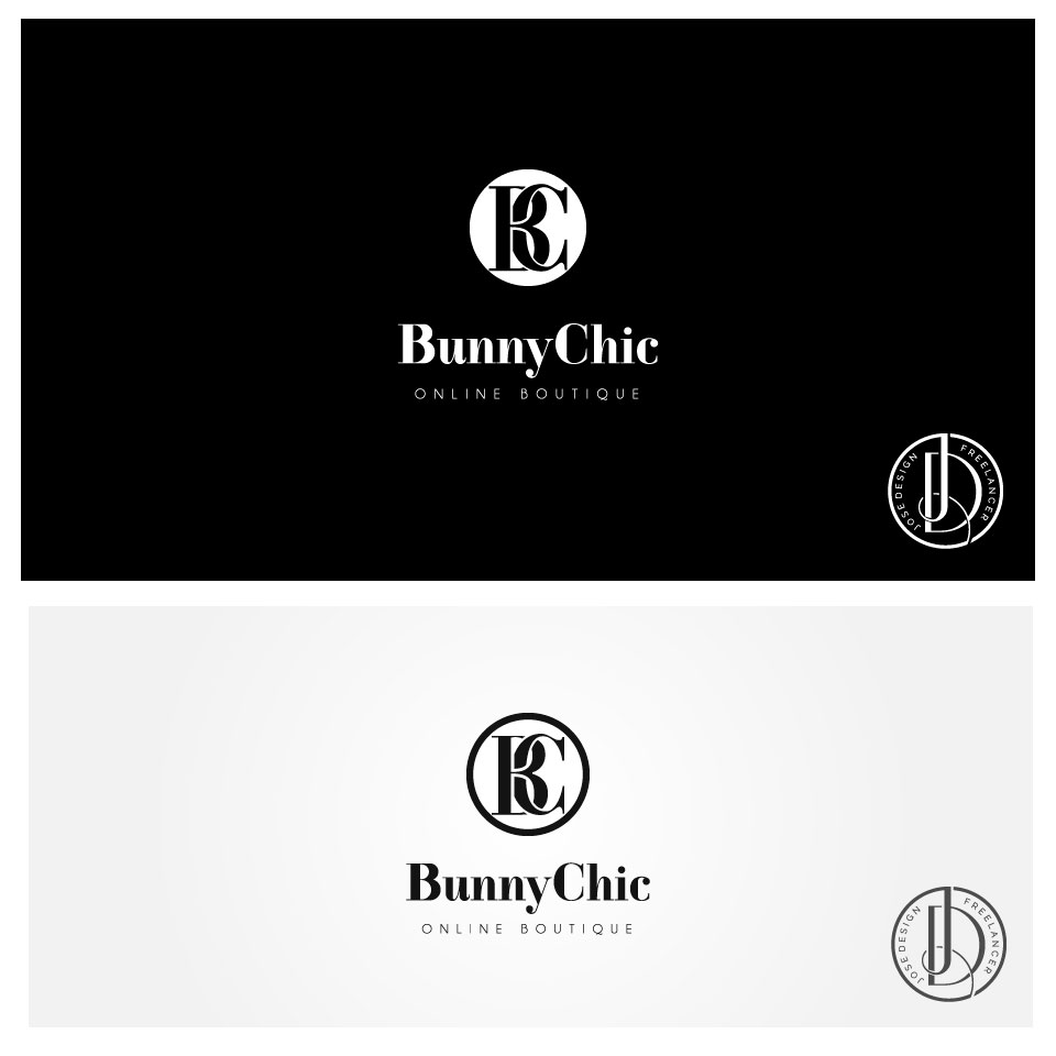 Upmarket Elegant Fashion Logo Design For Bunny Chic By Josedesign Design 21994376